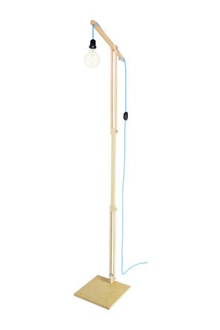 Luminária de Piso Articulada Coleção Grua Azul by Mirabile Decor & Design